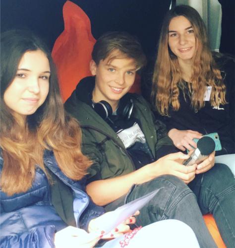 U18-Wahlreporter unterwegs