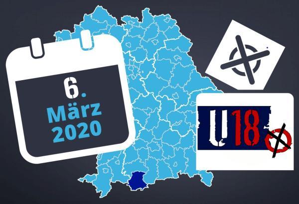 Am 6. März 2020 ist die U18-Kommunalwahl